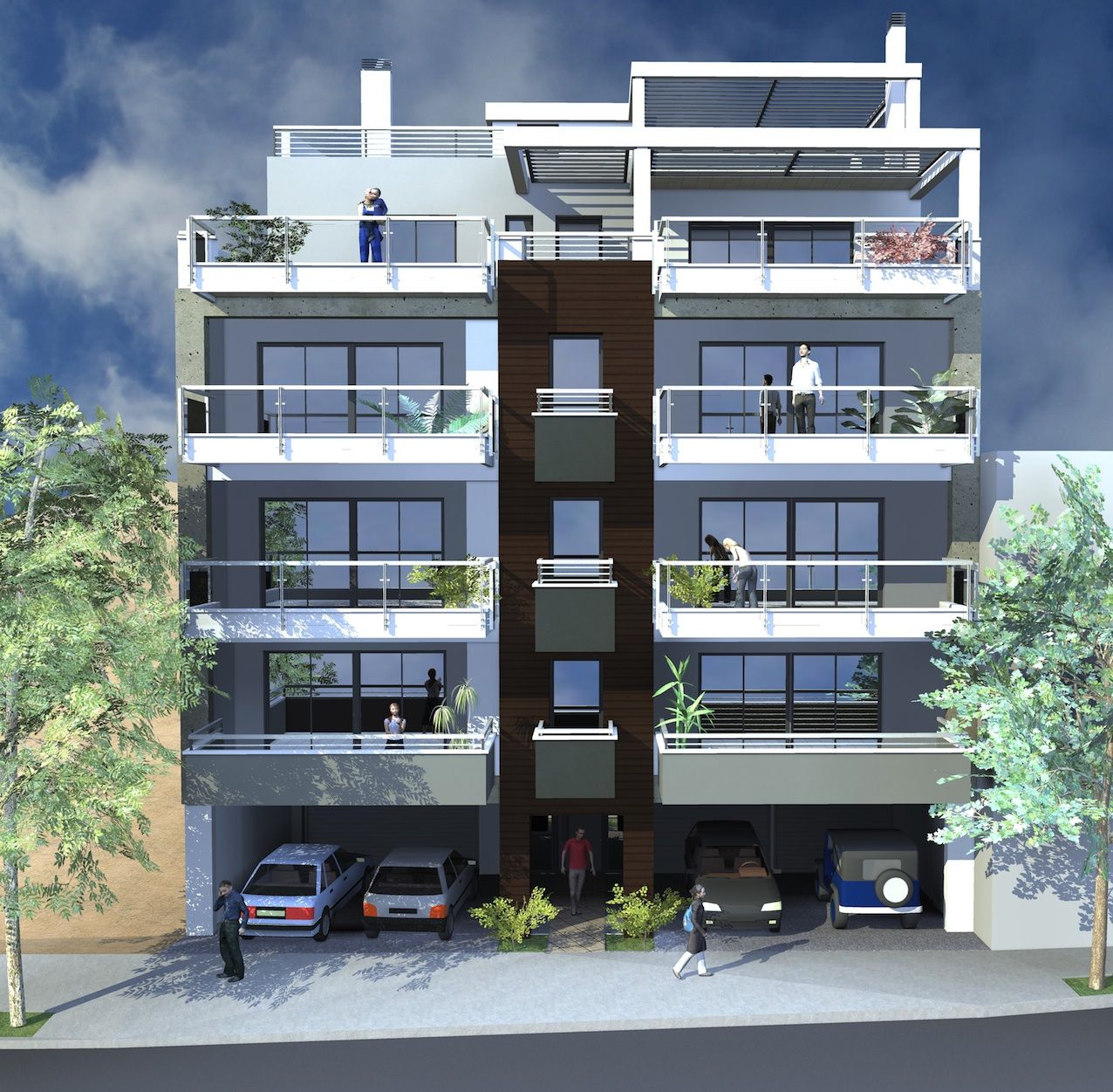 Modern residential buildings joy studio design gallery Modern residential towers